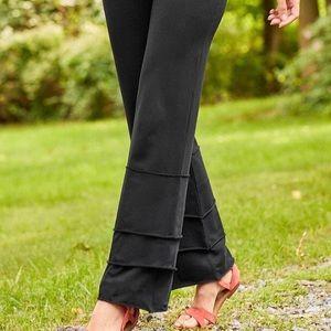 Matilda Jane Women's Finn Pants/Tiered/Gray/ Small